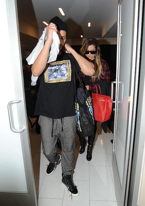 Photos : Khloé Kardashian : si elle voulait passer inaperçue avec Franch Montana, c'est raté !