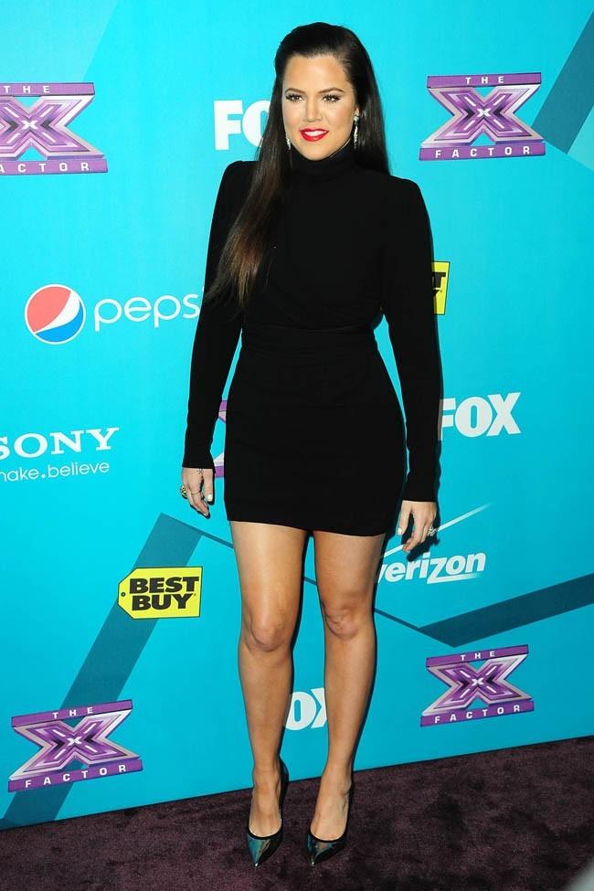 Khloe Kardashian le 5 novembre 2012 à Los Angeles
