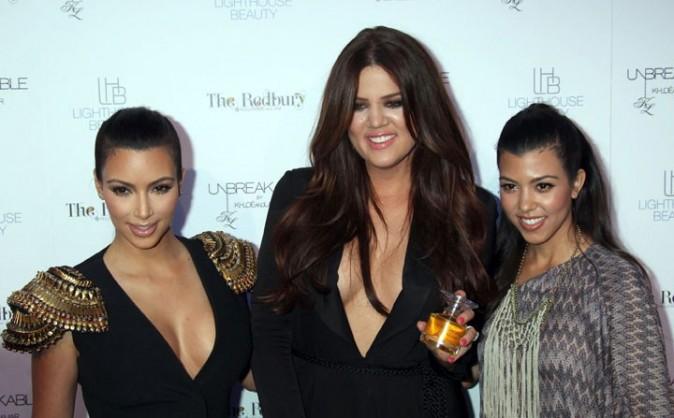 Les trois soeurs Kardashian réunies ...