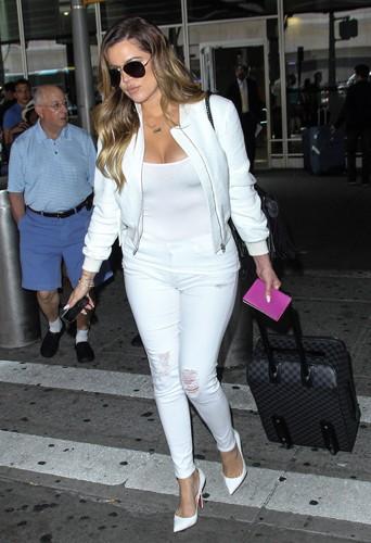 Khloé Kardashian à New York le 26 mai 2014