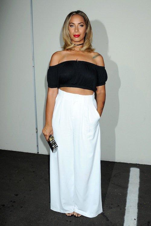 Leona Lewis à la soirée des 50 ans de Cosmopolitan, le 12 octobre 2015