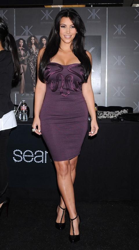 Kim Kardashian plus jolie que ses soeurs ?