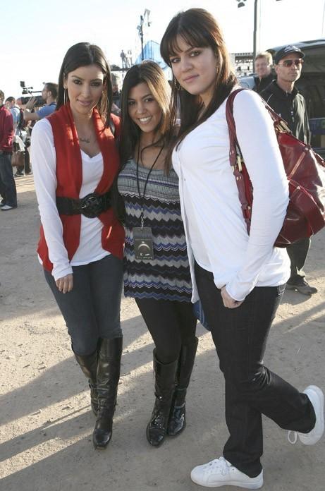 Les trois soeurs en 2007 !