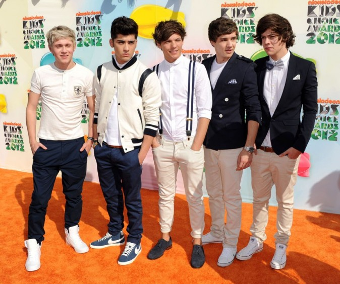 One Direction aux Kids' Choice Awards 2012 !