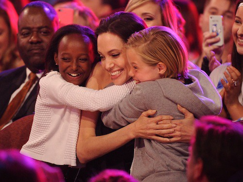 Photos : Kids' Choice Awards 2015 : les filles Jolie-Pitt vs les fils Beckham ! Découvrez le palmarès !