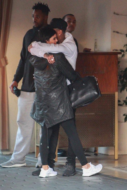 Photos : Kim et Kanye, Kylie et Tyga, c'est l'amour fou chez les Kadashian-Jenner !