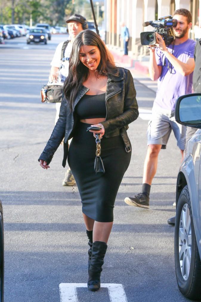 Kim Kardashian le 14 janvier 2015