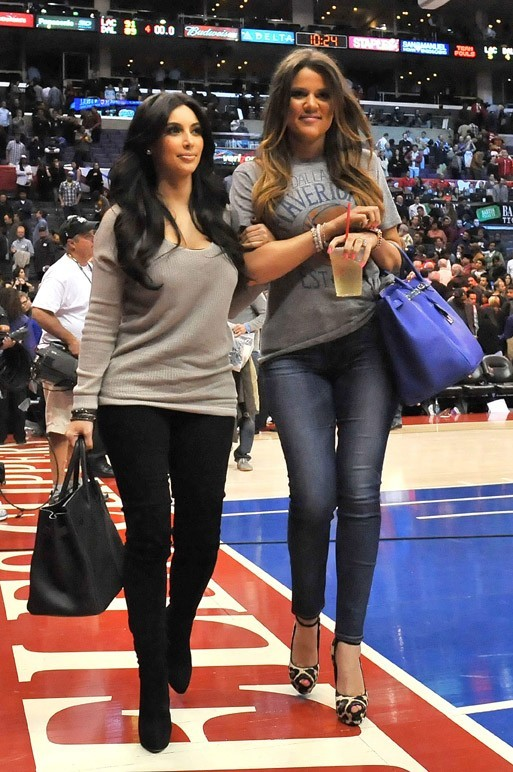 Kim et Khloé Kardashian, les inséparables !