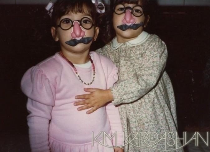 Kim et Kourtney déguisées !