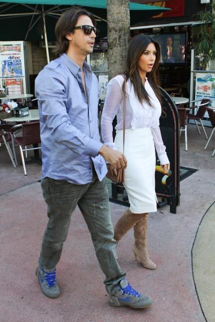 Kim Kardashian le 29 octobre 2012 à Miami