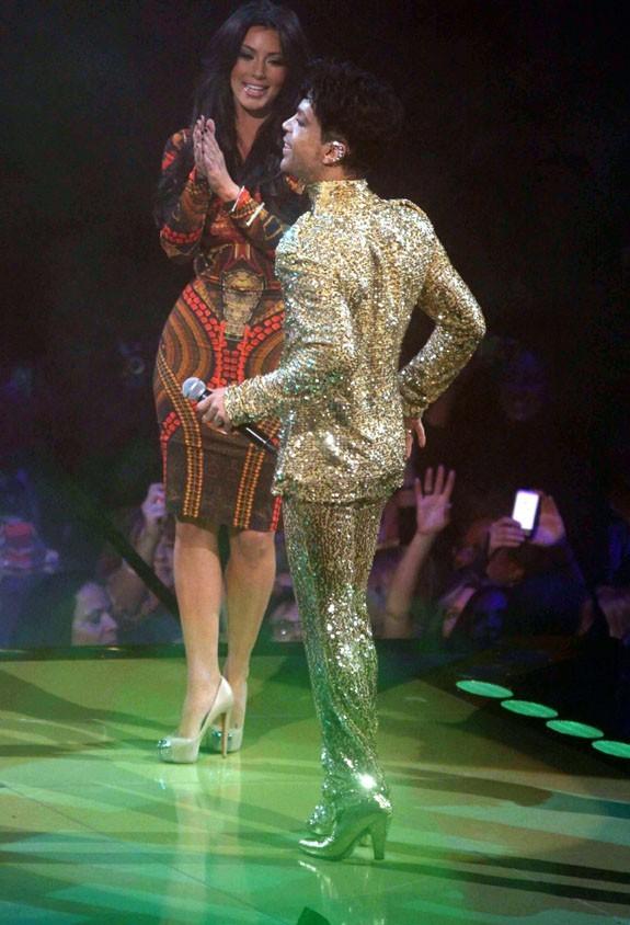 Kim sous le charme de Prince !