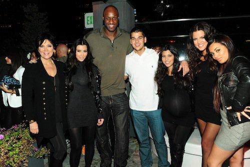 2009 : toute la famille fête les 30 ans de Lamar Odom