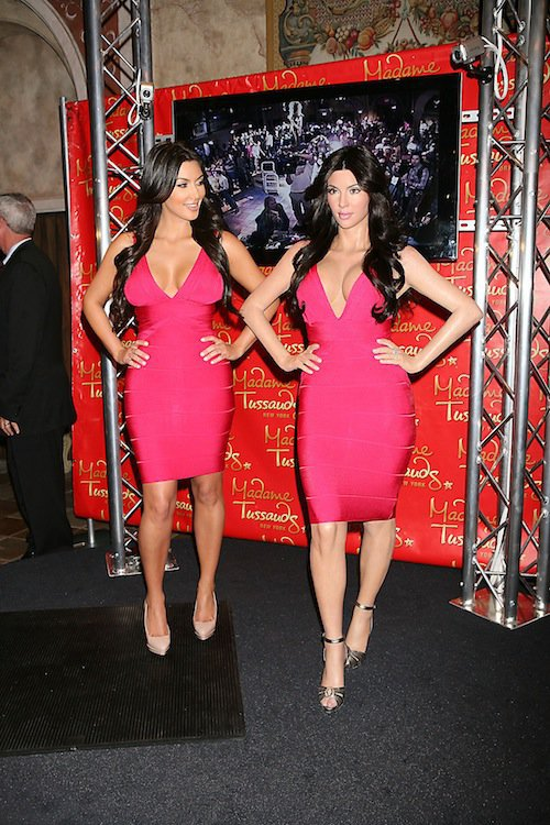 En juillet 2010, elle inaugure sa statue chez Madame Tussauds