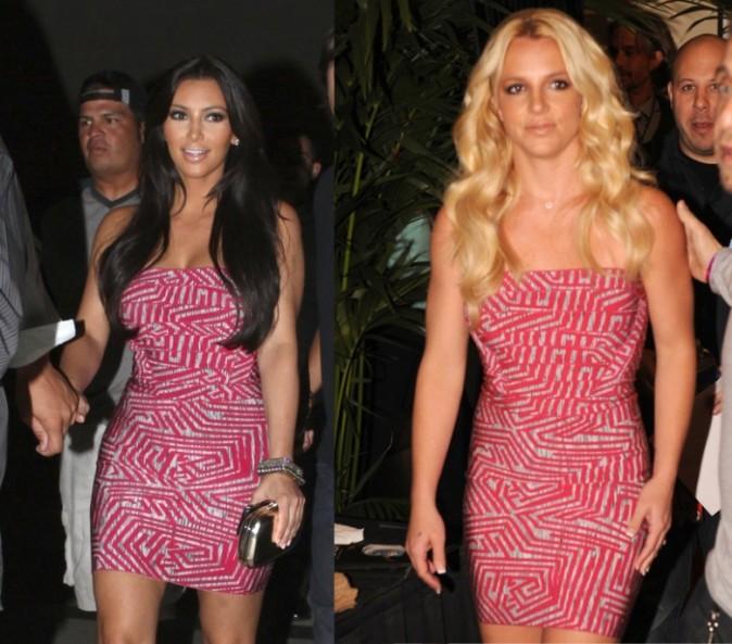 Kim et Britney face à face, à vous de les départager !