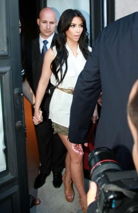 photos kim kardashian deux jours de son mariage