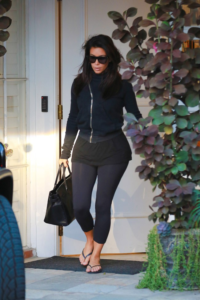Kim Kardashian à Beverly Hills le 16 septembre 2014