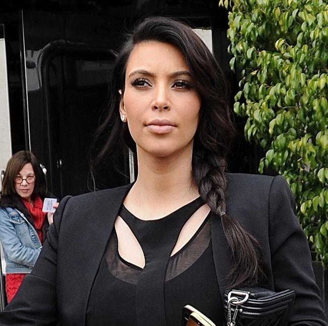 Kim Kardashian à Los Angeles le 19 février 2013