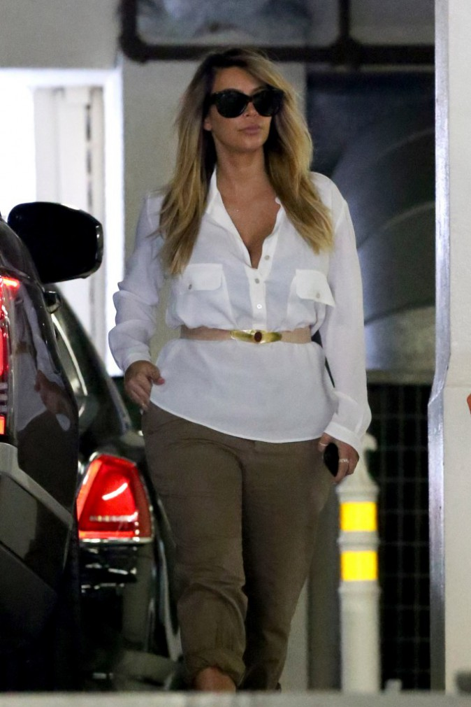 Kim Kardashian à Beverly Hills, le 11 septembre 2013.