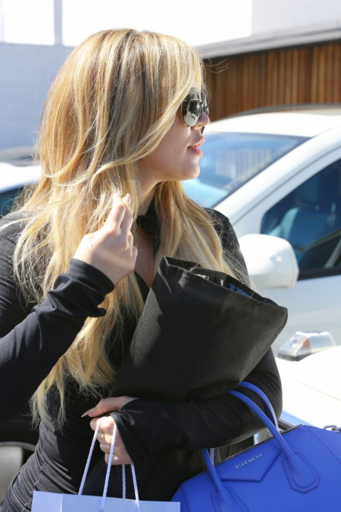 Khloe Kardashian le 25 mars 2015