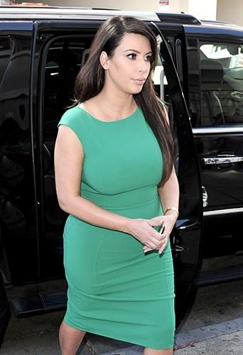 Kim Kardashian à Los Angeles le 17 avril 2013
