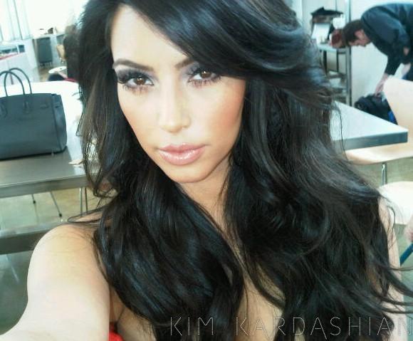La coiffure la plus commune de Kim !
