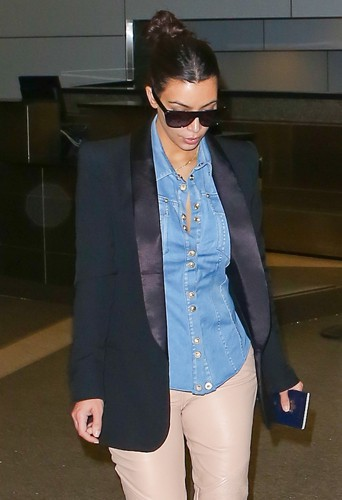 Kim Kardashian à Los Angeles le 1er mai 2014