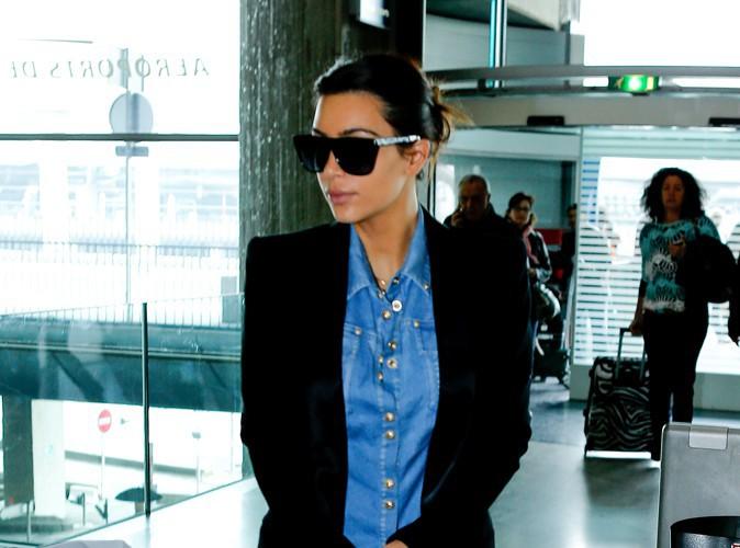 Kim Kardashian à Paris le 1er mai 2014