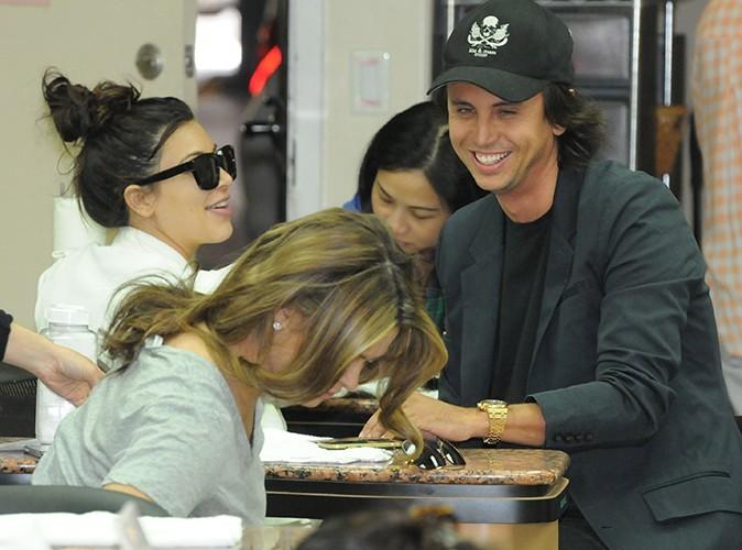 Kim Kardashian et son meilleur ami Jonathan Cheban à Los Angeles le 8 mai 2013