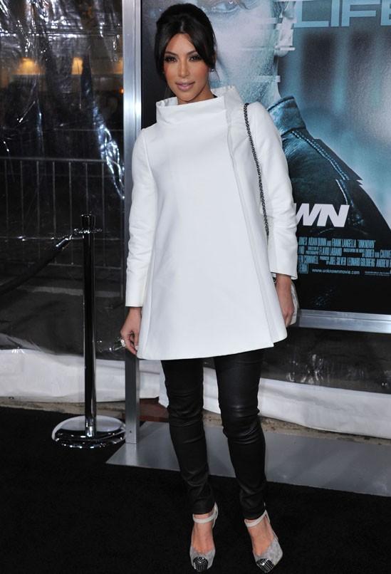 Joli son manteau blanc !