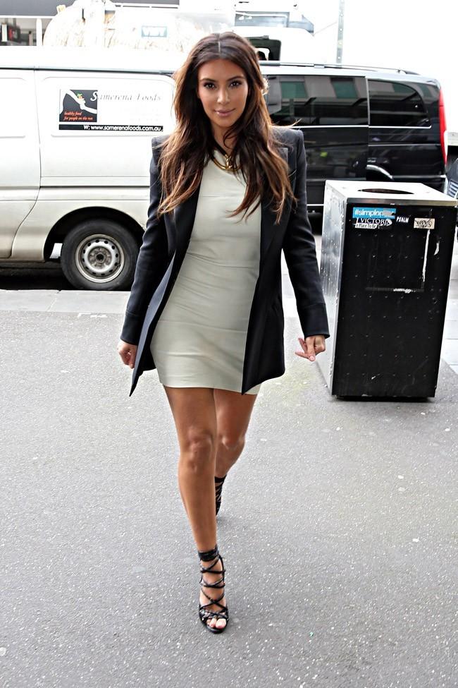 Kim Kardashian le 21 septembre 2012 à Melbourne