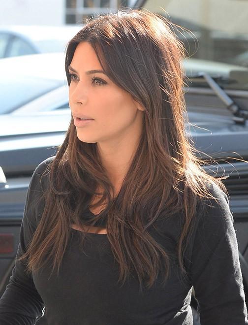 Kim Kardashian à Los Angeles le 4 mars 2014