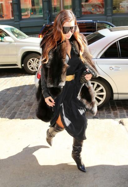 Kim Kardashian à New York, le 22 octobre 2012.