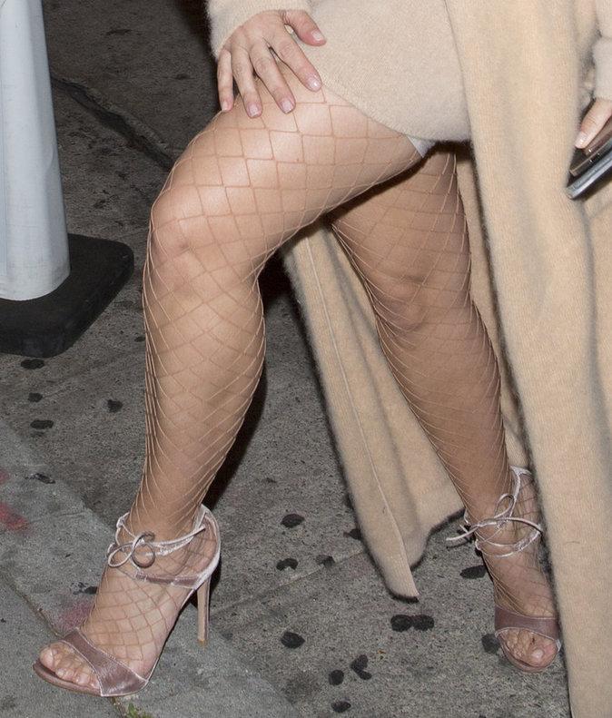 les bas sexy de Kim Kardashian