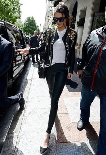 Kendall Jenner à Paris le 22 mai 2014
