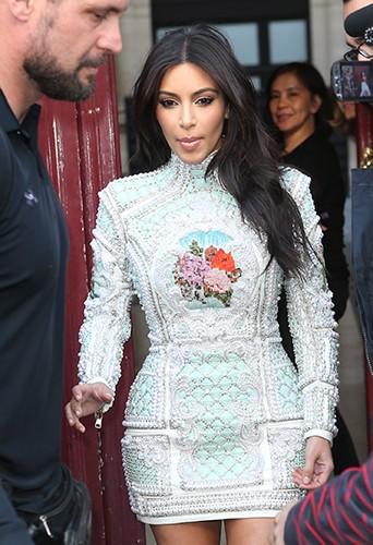 Kim Kardashian à Paris le 22 mai 2014