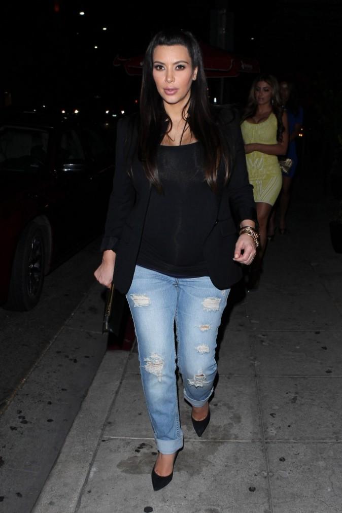 Kim Kardashian à Beverly Hills, le 17 avril 2013.