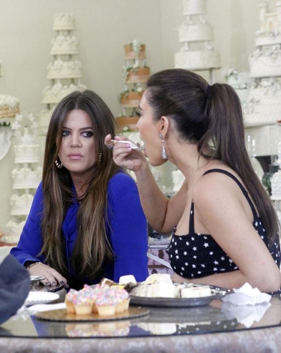 Khloé Kardashian était là pour aider sa soeur !