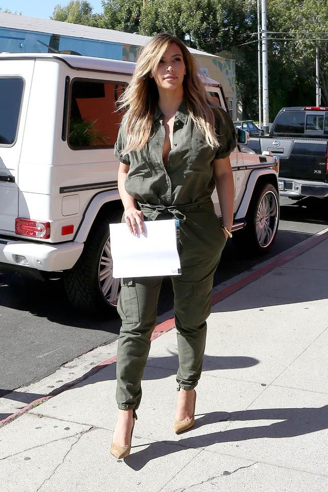 Kim Kardashian à Sherman Oaks le 24 septembre 2013