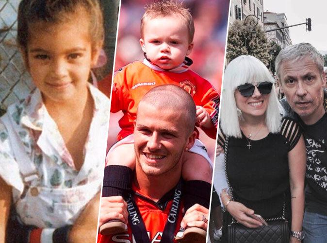 Kim Kardashian, David Beckham, Alizée... une fête des pères sur Instagram !