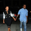 Kim Kardashian et Kanye West à New-York le 12 septembre 2012