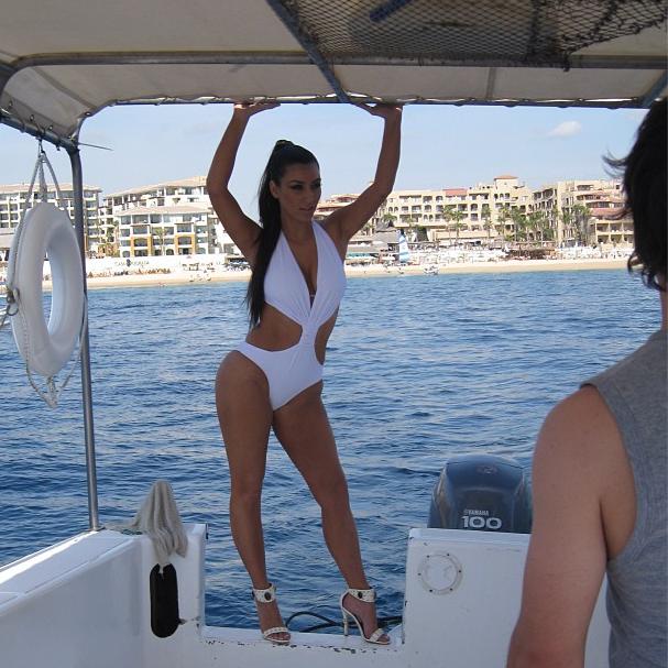 Kim Kardashian : de plus en plus nostalgique de son corps...