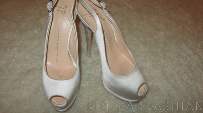 Des chaussures plus simples, pour la fin de soirée...