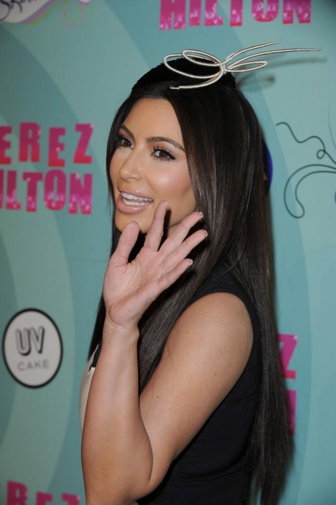 Une soirée sans Kim ça n'existe pas !