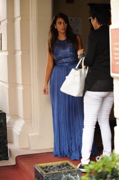 Kim Kardashian à Miami, le 1er octobre 2012.