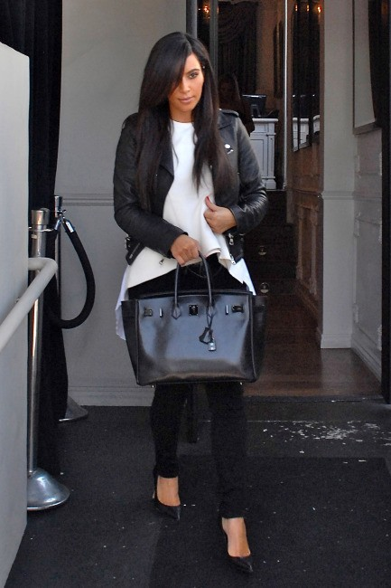 Kim Kardashian à Los Angeles, le 10 juin 2012.