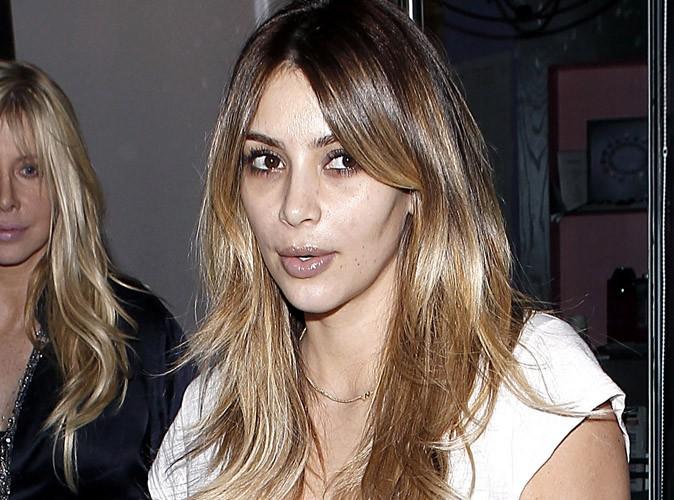 Kim Kardashian à Los angeles, le 14 novembre 2013.