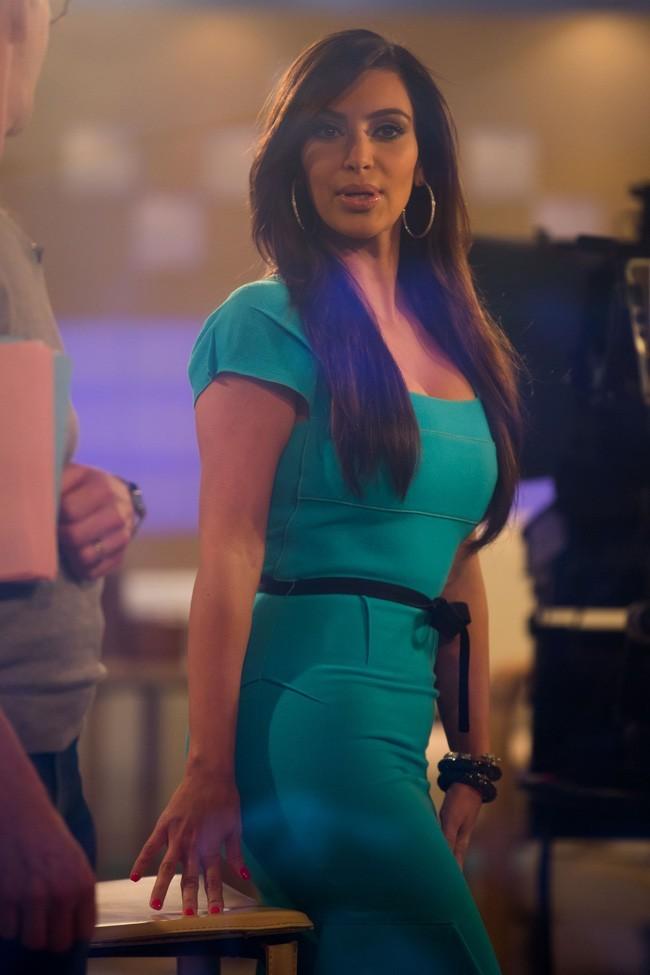 Kim Kardashian sur le plateau du Today Show hier matin !