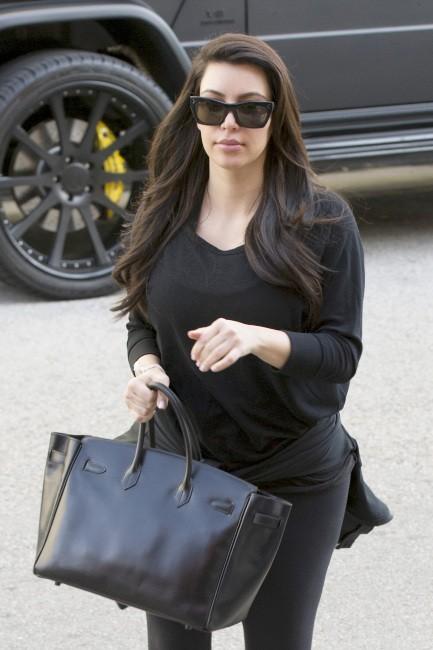 Kim Kardashian, Los Angeles, 29 janvier 2013.