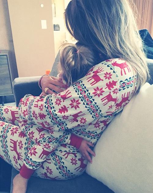 Noël 2014 : Khloe Kardashian et sa nièce Penelope