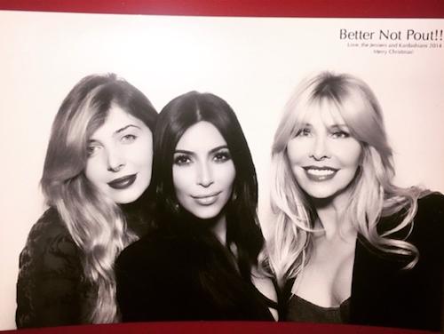Noël 2014 : Kim Kardashian et ses amies